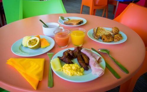 Hôtel Canella Beach – Frühstück